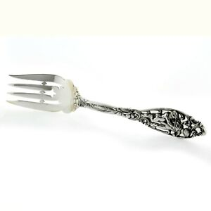 Dominick Haff Labors Of Cupid Sterling Silver Serving Fork Shreve Crump Low Co
