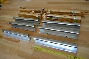 New Nippon Bearing Nb Wa16x12 Supported Linear Rails 1 dia X 12 Long Thk Cnc