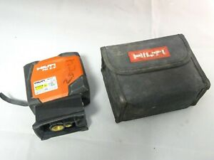 Hilti Pm 2 p 2 Point Laser Level Self leveling Laser Level With Case