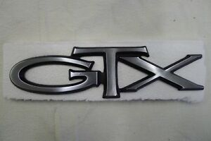 Nos Gtx Badge Chrysler Dodge Plymouth 1968 1969 1970 1971 68 69 70 71