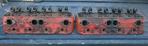 Chevy Small Block 302 327 350 3947040 Cylinder Head Pair 1 94 1 50