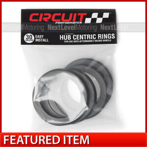 Circuit Performance 108 78 1 Hub Centric Rings Set Of 4 Fits Chevy Cadillac