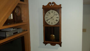 Fully Properly Restored Seth Thomas Time Only Office No 6 Wall Regulator