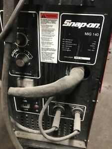 Snap On Mig 140 Mig Welder