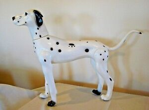 Large Model Dalmatian Dog Mannequin Display Retail Store Statue Clothes Italy