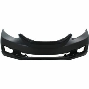Bumper Cover For 2013 2015 Honda Civic 4 Door Front Primed With Fog Light Holes