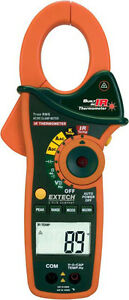 Extech Ex840 Cat Iv1000a Clamp Meter Ir Thermometer