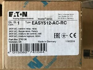 Brand New Eaton Easy512 ac rc Programmable Relay 110 240v Quantity Available