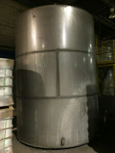 Used 6 750 Gallon Stainless Steel Tank