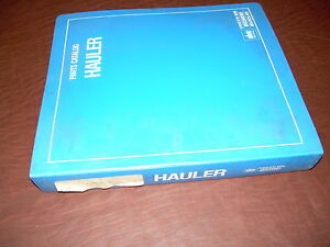 Euclid Volvo Vme 99fd 42358 Tractor Truck Hauler Parts Catalog Manual