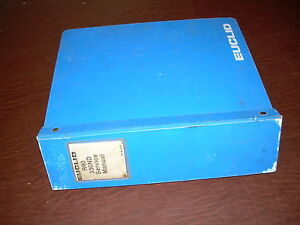 Euclid Volvo 330 Nd R90 Dump Truck Hauler Book Used Service Manual Terex
