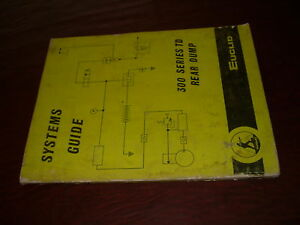 Euclid Volvo 300 Series Td Systems Rear Dump Truck Hauler Service Manual