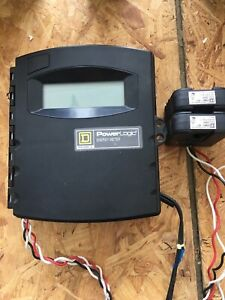 Square D Power Logic Energy Meter Emb2 021 With 2 200a Ct s Powerlogic Emb