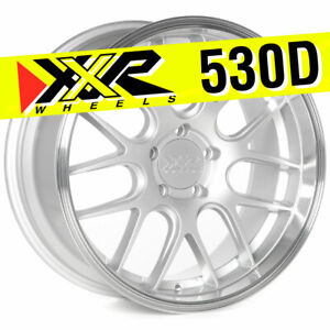 Xxr 530d 19x9 5x114 3 35 Silver Wheels Set Of 4