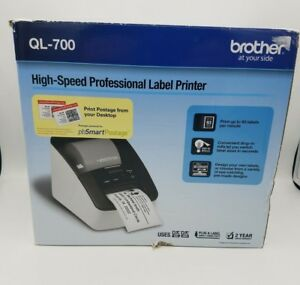 New Brother Ql 700 High Speed Professional Thermal Label Postage Printer