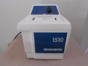 Branson Ultrasonic Cleaner Bath 1510r mt 1 2 Gallon W Lid Works Excellent