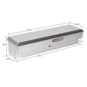Weatherguard Clear Low Side Full Size Truck Tool Box Aluminum Standard 174 0