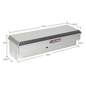 Weatherguard Clear Low Side Full Size Truck Tool Box Aluminum Short 184 0 01