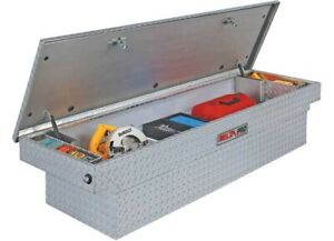Jobox Silver Crossover Single Lid Full Size Truck Aluminum Tool Box Pac1580000