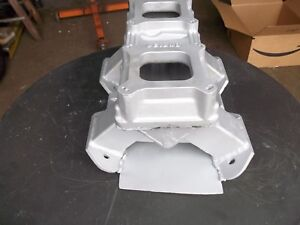 Mopar Dodge Plymouth 413 440 Wedge 2 X 4 Fabricated Aluminum Tunnel Ram Intake