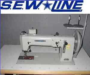 Sewline Sl 243 New Extra Heavy Duty Walking Foot Industrial Sewing Machine