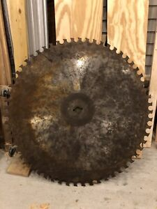 56 Antique Saw Mill Saw Blade