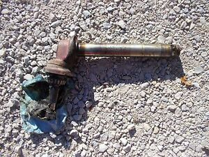 International Farmall 656 Rc Tractor Ih L Org Wide Front Widefront End Spindle