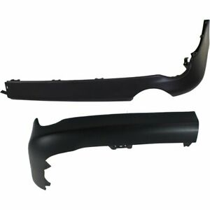Set Of 2 Air Dam Deflector Lower Aprons New Rear Right And Left Lh