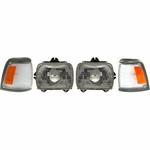 Auto Light Kit New Right and left For Truck Lh Rh Toyota Pickup 1992 1995