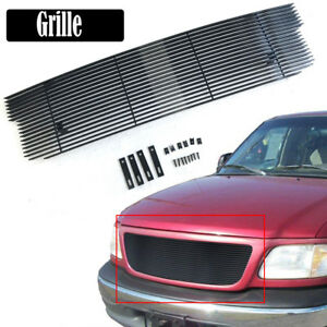 Aluminum Front Bumper Main Upper Grille Fits 99 03 Ford F150 Lightning Harley