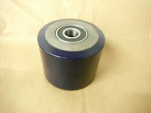 Cast Polyurethane Roller 5 x3 7 8 25mm Bore Steel Core Wheel Type Roller