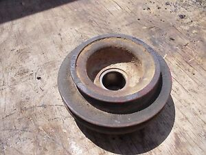Farmall 560 460 G Rc Tractor Ih Ihc Engine Motor Main Front Crankshaft Pulley