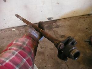 Farmall C Sc Tractor Ih Main Drive Shaft With Couplers