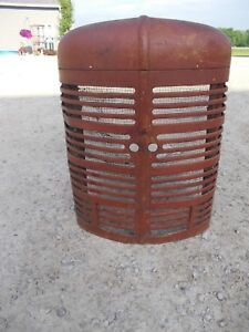 Farmall M Mv Tractor Original Factory Ih Front Nose Cone Grill W Bottom Insert
