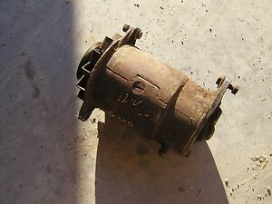 Farmall Ih 460 560 Tractor Good Working 12v Generator Belt Pulley Ihc