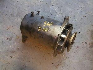 Farmall 460 560 Ih Tractor Ihc Generator With Pulley