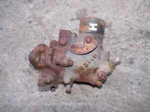 Farmall H Hv Early Sh Tractor Ih Ihc Orignal Working Carburetor Assembly