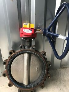 Nnb Nibco Ld 3510 Butterfly Valve 12 250psi Electric Actuator Included