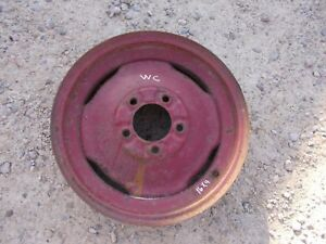 Allis Chalmers Wc Wd Tractor 4 X 16 Front Ac Rim To Use With Tire