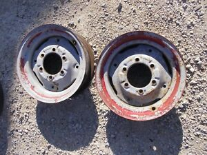 Ford 8n Tractor 15 X5 Press Style Front Rim Rims For Tire To Hub