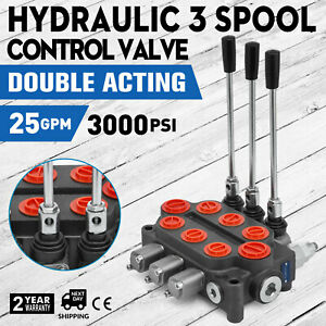 3 Spool 25 Gpm Rd532cccaaa5a4b1 Hydraulic Valve Tractors Loaders Monoblock