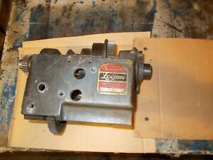 Logan Lathe 200 Headstock And Gears logan Lathe Bull Gear And Back Gears Parts
