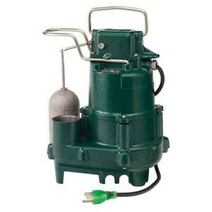 Zoeller M95 1 2 Hp Premium Sump Pump W Vertical Float Switch 5yr Warranty