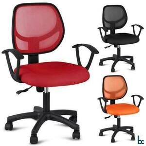 Adjustable Ergonomic Swivel Executive Office Chair Mesh Computer Desk By Bc