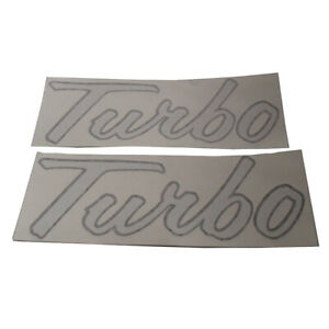 2753675r1 2 Vinyl Turbo Hood Decals For Case ih Tractor 1066 1256 1456 1466 1566