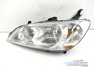 All Tabs Intact 2004 2005 Honda Civic Headlight Oem Lh Driver Pre Owned