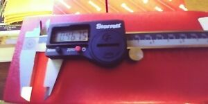 Starrett 798a 6 150 Digital Caliper Stainless Steel Battery Powered Inch metr