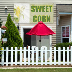 Vinyl Banner Sign Sweet Corn 1 Style E Sweet Corn Marketing Advertising Green