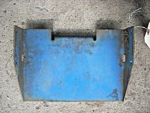Ford 1715 Tractor Battery Tray Sba389101600