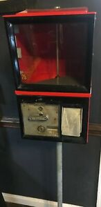 Gumball Machine 2 Inch Capsules Two Keys Toy Machine Vending Victor
